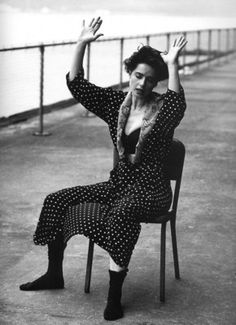 Isabella Rossellini and Steven Meisel for Dolce & Gabanna and a Tribute to Emilio Pucci Steven Meisel, Isabella Rossellini, Ingrid Bergman, Cinema Video, Swedish Actresses, Actor Studio, Monochrome Fashion, Peter Lindbergh, Foto Art