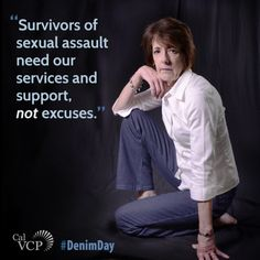 A reminder that there is no excuse. Great words from CalVCP's Executive Officer on #DenimDay Sexual Assault Awareness Month: http://vcgcb.ca.gov/victims/victimsrightsmonth/denim.aspx