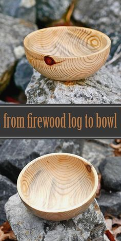 Wood turning project from firewood log. Easy for beginners! Wood turning project from firewood log. Easy for beginners! The post Wood turning project from firewood log. Easy for beginners! appeared first on Woodworking Diy.