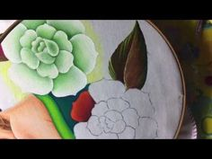177.-pintura en tela charra - YouTube