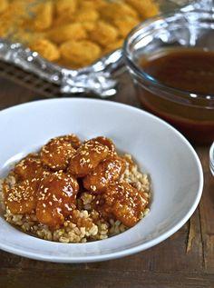 Gluten-Free Healthy Baked Sesame Chicken