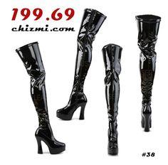Heels, Boots, Fashion, Heel, Shearling Boots, Moda, Fashion Styles, Shoes Heels, Shoe Boot