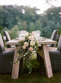 Elegant Green, White, and Mauve Wedding Ideas / http://www.himisspuff.com/wedding-table-centerpieces-runners/3/