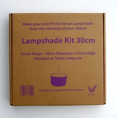 Drum Lampshade Kit - Medium