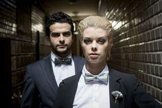 Shooting Beaux Garçons pour la collection Azurée