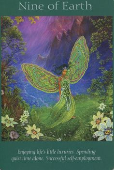Angel Tarot Cards - Nine of Earth
