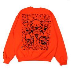 Hell Crewneck, Orange – Lo-Fi