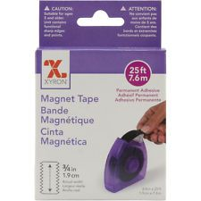 """Adhesive Back Magnetic Tape Dispenser-.75""""X25' by Xyron"""