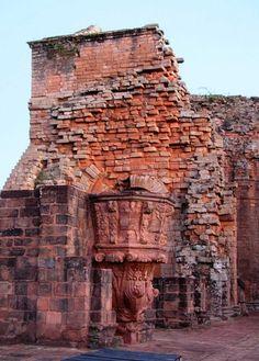 Trinidad Jesuit ruins. Trinidad, PARAGUAY
