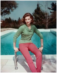 Lauren Bacall A master of colorblocking, mid-1950s Corbis Archive
