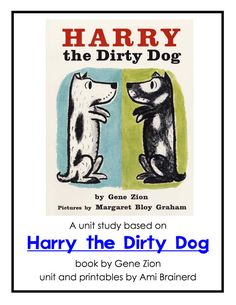 Pets: Harry the Dirty Dog  Free Unit Study and Lapbook