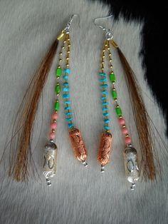 Horse Hair Earrings