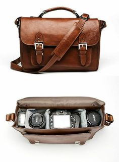 Geschenke zum Valentinstag für ihn Ledertache Kamera Accessoires