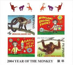 Philippines Stamps 2004 - Zodiac Signs Year of the Monkey