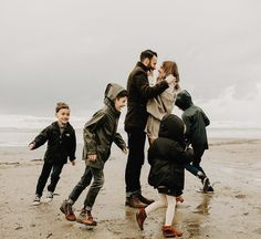 "823 Likes, 41 Comments - Jillian Goulding (@jilliangoulding) on Instagram: ""One more of this adorable family from the PNW. We played at the beach in the wind & rain, but we…"""