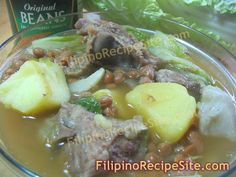 My family loves nilaga like this nilagang baboy. This type of recipe are soupy kind of food dish and if we have this recipe on our table, my kids quickly f