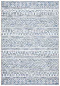 Bayamo is a gorgeous tribal flatweave rug, featuring beautiful tonal variations of ocean blue and a tribal inspired linear pattern woven into the design. Bayamo is silky soft underfoot and super hardwearing. Chevron Rugs, Tribal Rug, Tribal Style, Linear Pattern, Tribal Patterns, Tribal Fashion, Indoor Outdoor Rugs, Outdoor Living, Modern Rugs