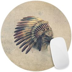 Eagle Chief Mouse Pad Decal