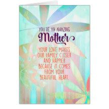 You& An Amazing Mother Card - birthday cards invitations party diy personalize customize celebration