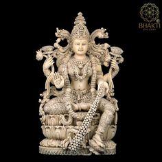 Lakshmi Statue, Kali Statue, Saraswati Statue, Krishna Statue, Star Goddess, Goddess Art, Hindu Culture, Good Luck Gifts, Goddess Lakshmi