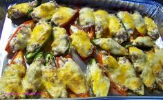 Sausage and Cheese Stuffed Jalapenos Dip Recipes, Mexican Food Recipes, Appetizer Recipes, Appetizers, Chilli Dish, Fancy Dishes, Tasty Kitchen, Recipe Community, Stuffed Jalapenos