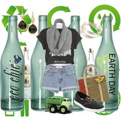 Really Chic Recyclables!, created by xliterarystylistx on Polyvore