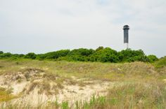Sullivan's Island Light = Swam at this beach~