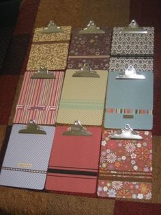 Image result for decorating with clipboards