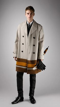 burberry prorsum I'm sorry, but I wouldn't seriously consider a man, who was wearing this...though  I do like it...lol
