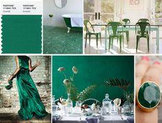 Esmeralda, PANTONE 17-5641 Emerald.