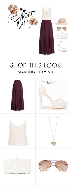 """""""Untitled #14"""" by mariam555 ❤ liked on Polyvore featuring Halston Heritage, Nly Shoes, Raey, Betsey Johnson, Deux Lux, H&M and rag & bone"""