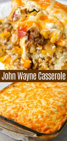 Beef Casserole Recipes, Meat Recipes, Crockpot Recipes, Recipe For Corn Casserole, Easy Casserole Dishes, Casserole Ideas, Entree Recipes, Chicken Recipes, Recipies