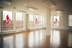 Favorite yoga spot, Moksha hot yoga studio on 6th ave and 10th st.