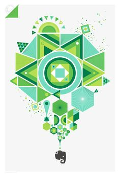 Evernote on Behance | by Office