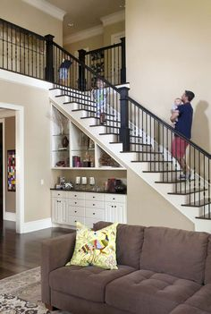 Great 40+ Awesome Ways To Use Space Under Stairs https://modernhousemagz.com/40-awesome-ways-to-use-space-under-stairs/