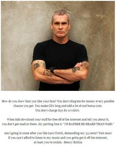 Henry Rollins guest stars on the Ho' opio episode (Monday, May 6th).