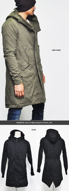 Outerwear :: Jackets :: Rugged Military Vintage Field Jacket-Jacket 67 - Mens Fashion Clothing For An Attractive Guy Look