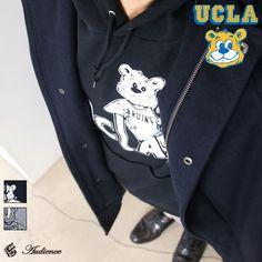 """画像1: UCLA""""UCLA BEAR BRUINS""""フーデッドライトパーカー / Audience"""