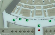Multisensory braille map for accessible buildings - EO GUIDAGE – A socially conscious company serving the disabled
