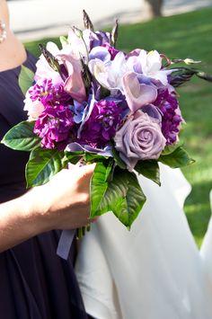 Purple and Lavender Bouquet