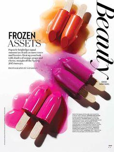"""Frozen Assets"" styled by Michelle Burca/Judy Inc. Photo by Natasha Sutila/ Sutila V."