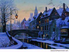 Fascinating-winter-evening-in-Brugge-Belgium