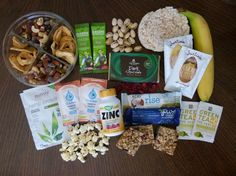 a great list of healthy travel snacks and essentials