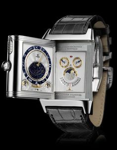 Jaeger-LeCoultre Reverso Mechanica à Tryptique. Definitely tops every watch I've ever seen. #menswatch #watch #watches #canada