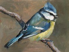 Beautiful bird painting