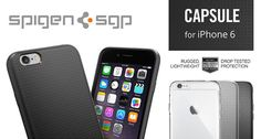 Spigen Capsule iPhone 6/6s tok - Smart Clinic Clinic, Iphone 6