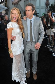 blake lively, red carpet, ryan reynolds