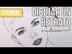 Aprende cómo dibujar retratos paso a paso: Guía única + vídeos | Manualidades