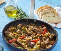 Εύκολη τηγανιά   Συνταγή   Argiro.gr - Argiro Barbarigou Food Categories, Cooking Time, Food And Drink, Favorite Recipes, Beef, Party Ideas, Foods, Essen, Meat
