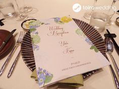 お客さまからのお写真をご紹介♡ |フルオーダーメイドの招待状・席次表&プロフィールブック*toiro wedding